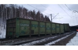 За сход 19 вагонов с углем под Златоустом ответят два должностных лица ЮУЖД
