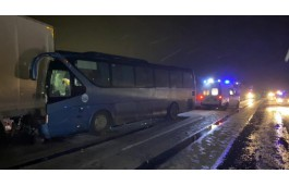В ДТП с автобусом из Златоуста погибли два человека