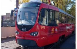 В Златоусте после тестовой обкатки вышли на линию новые трамваи
